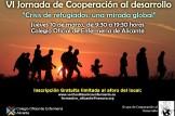 """""""Crisis de refugiados: una mirada global"""" VII Jornadas grupo cooperación al desarrollo"""