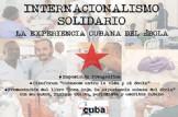 """Presentación de """"Zona Roja. La experiencia cubana del ébola"""""""