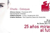 """Charla Coloqio """"25 años mirando al futuro"""" 25 Aniversario de Solidaridad Internacional PV"""