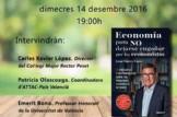 Presentació del llibre 'Economia per a NO deixar-se enganyar pels economistes' de Juan Torres