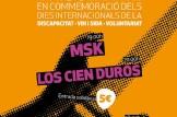 Concert Trisolidari en conmemoració dels dies internacionals de la discapacidad, VIH-SIDA i Voluntariat