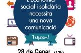 Xerrada:L'Economia social y solidària necessita  una nova comunicació