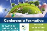 Conferencias formativas sobre el pacto de los alcaldes