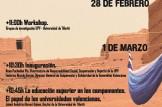 II JORNADA POBLE SAHRAUÍ - UNIVERSITATS PÚBLIQUES VALENCIANES