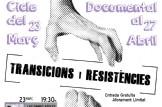 """Cicle de cinema documental: Transicions i Resistències """"𝑳𝑬𝑺 𝑵𝑶𝑺𝑻𝑹𝑬𝑺 𝑬𝑵𝑬𝑹𝑮𝑰𝑬𝑺"""""""