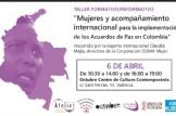 Mujeres y acompañamiento internacional para la implementación de los Acuerdos de Paz