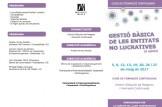 """Finalización plazo de preinscripción del curso de formación continua """"Gestión de las Entidades no Lucrativas"""""""