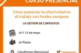 """Formación: """"Cómo aumentar la efectividad en el trabajo con fondos europeos. La gestión de contratos."""""""