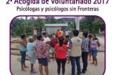 Segunda Acogida de Voluntariado 2017-Psicólogos sinFronteras