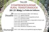 """Taller """"D'Emprendedurisme Rural Transformador"""""""