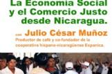 """Café Tertulia: """"La Economía Social y el Comercio Justo desde Nicaragua"""""""