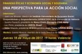 """Mesa redonda sobre """"Finanzas éticas y economía solidaria"""""""