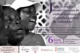 Jornada acceso a la justicia para las mujeres víctimas de violencia sexual en el conflicto armado en Colombia