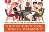 Cafenclau - Si tens un projecte social, troba la teua financiació