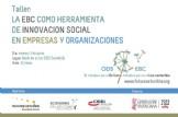 La EBC como herramienta de innovación social en empresas y organizaciones