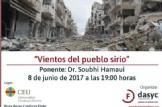 """Charla """"Vientos del pueblo sirio"""""""