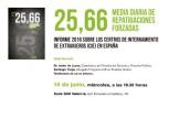 Presentación del informe - Centros de Internamiento de Extranjeros en España