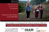 Presentació de l'Informe Anual CEAR 2017