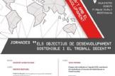 """Jornades """"Els Objetius de desenvolupament Sostenible i el treball decent"""""""