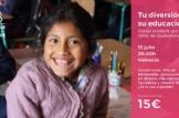 Cóctel solidario por la educación de las niñas en Guatemala