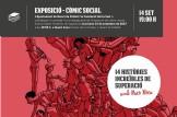 Inauguració de l'Exposició del Còmic Social Somos Súper