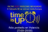 "Acto Protesta en Valencia ""Time is Up"""