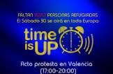 """Acto Protesta en Valencia """"Time is Up"""""""