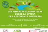 Charla: Las finanzas alternativas desde la óptica de la economía solidaria
