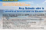 MESA REDONDA SOBRE CONVIVENCIA INTERCULTURAL ALICANTE (XV ASOCIACION DANAE)