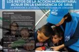 LOS RETOS DE LA ACCIÓN HUMANITARIA:  ACNUR EN LA EMERGENCIA DE SIRIA  LA ATENCIÓN A LA POBLACIÓN REFUGIADA EN JORDANIA