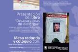 """PRESENTACIÓN DEL DOCUMENTAL """"SANDS OF SILENCE"""" Y DEL LIBRO """"DESAPARECIDAS DE LA MORGUE"""""""