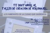 TALLER DE CREACCIÓN DE PERSONAJES