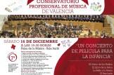 Concierto a favor de Cruz Roja del Conservatorio profesional de Música de Valencia