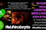 Concentración: #NoaLaPobrezaEnergetica