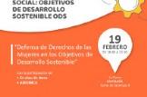 JORNADA:Defensa de Derechos de las Mujeres Migrantes: Los ODS como herramienta de transformación social
