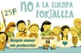 """MANIFESTACIÓ """"NO A L'EUROPA FORTALESA, ELS DRETS HUMANS NO ES NEGOCIEN"""""""