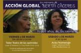En memoria de Berta Cáceres: Taller Teatro de las oprimidas