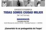 """Exposició """"Todas Somos Ciudad Mujer"""""""