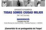 """""""Presentació de projectes d'educació per la Igualtat"""" con motivo de la exposición """"Todas Somos Ciudad Mujer"""""""