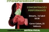 Concentració #ForaParadisosFiscals