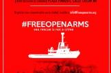 Concentración en Valencia #FREEOPENARMS Salvar vidas no es un delito