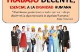 Charla -Coloquio: TRABAJO DECENTE, ESENCIAL PARA LA DIGNIDAD HUMANA