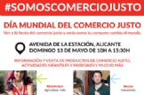 DÍA MUNDIAL DEL COMERCIO JUSTO 2018 EN ALICANTE