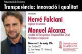 Presentació de l´informe Transparència: innovació i qualitat