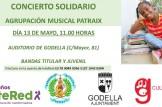 Concierto Solidario en Godella (Valencia)