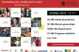 DIA MUNDIAL DEL COMERCIO JUSTO EN LA UNIVERSIDAD POLITÉCNICA DE VALENCIA