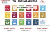 Talleres gratuitos: voluntariado y ODS