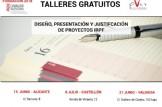Talleres gratuitos: diseño, presentación y justificación de proyectos IRPF