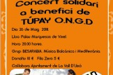 Besarabia: Concert solidari a benefici de Túpay ONG