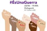 Concentracion contra la decisión de la Audiencia Provincial de Navarra de dejar en libertad provisional a La Manada.